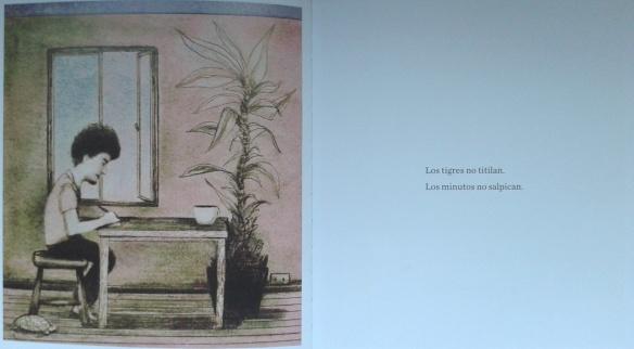 """""""Eso no se hace"""", ilustración interior a doble página."""