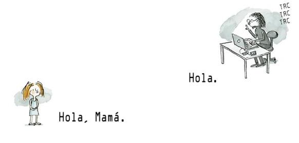 002 003 hola, mamá